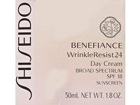Shiseido SPF 18 Benefiance Wrinkle-Resist 24 Day Cream for Unisex, 1.8 Ounce - Image 4