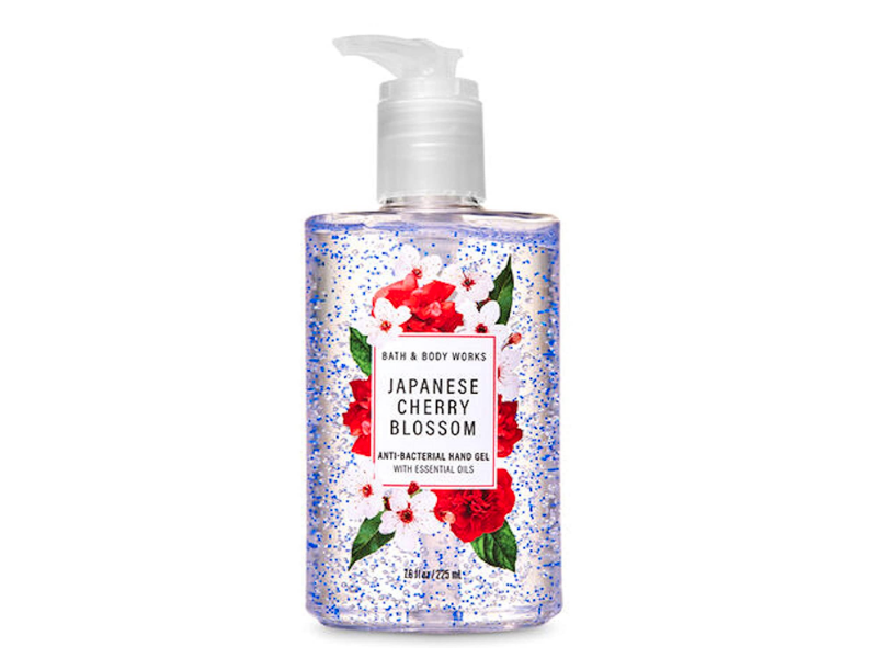 Bath & Body Works Anti-Bacterial Hand Gel, Japanese Cherry Blossom, 7.6 fl oz/225 mL