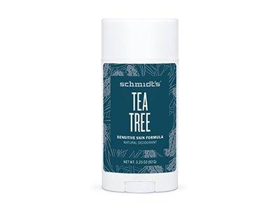 Schmidt's Natural Deodorant for Sensitive Skin, Tea Tree, 3.25 oz