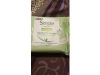 Simple Kind To Skin Cleansing Facial Wipes, 25 wipes (3 pack) - Image 3