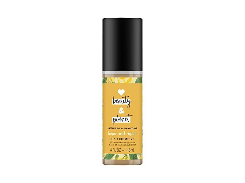 Love Beauty and Planet 3-in-1 Benefit Oil, Coconut Oil and Ylang Ylang, 4 fl oz/118 mL