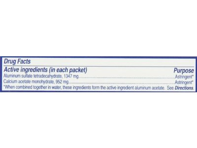 Domeboro Astringent Solution, 12 packets - Image 3