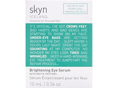 skyn ICELAND Brightening Eye Serum with Arctic Peptides, 0.34 oz. - Image 4