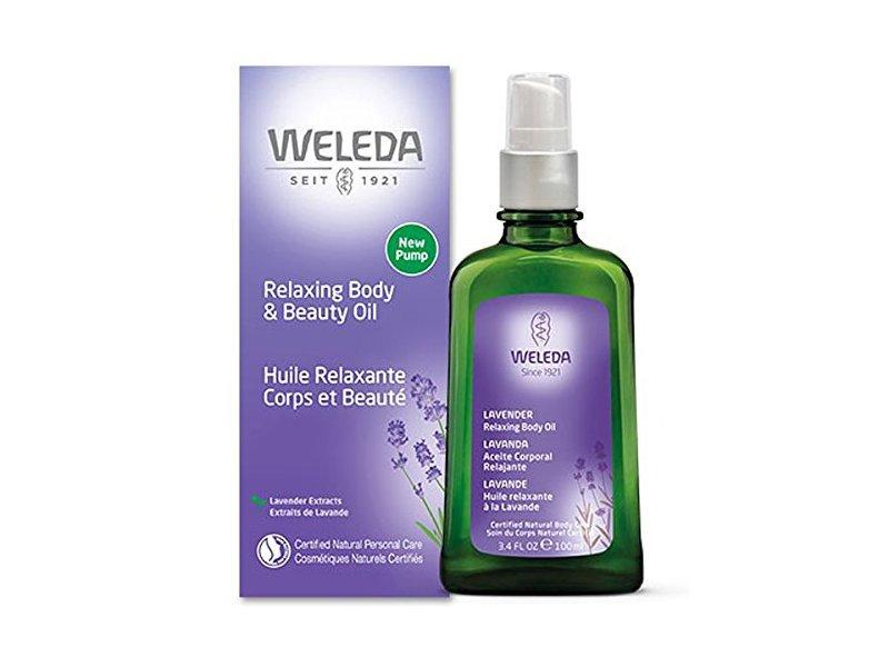 Weleda Relaxing Body & Beauty Oil, 3.4 fl oz/100 mL