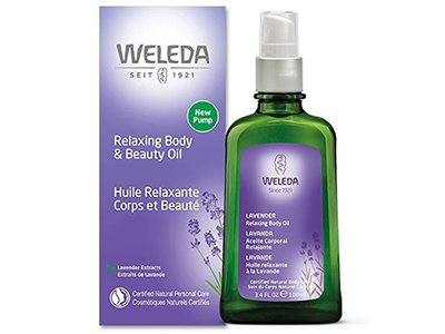 Weleda Relaxing Body & Beauty Oil, 3.4 fl oz/100 mL
