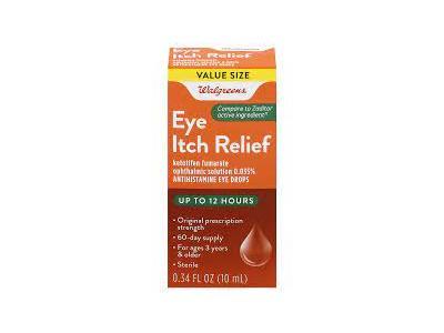 Walgreens Eye Itch Relief