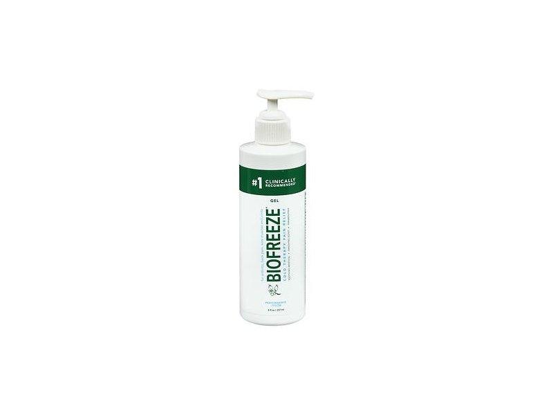 Biofreeze Cold Pain Relief Gel Pump, 8 fl oz