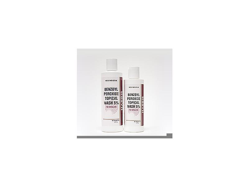 Harris Benzoyl Peroxide Topical Wash 5%, 8 oz