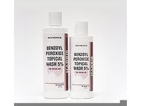 Harris Benzoyl Peroxide Topical Wash 5%, 8 oz - Image 2