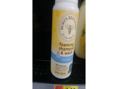 Burt's Bees Baby Foaming Shampoo & Wash – 8.4 Ounce - Image 3