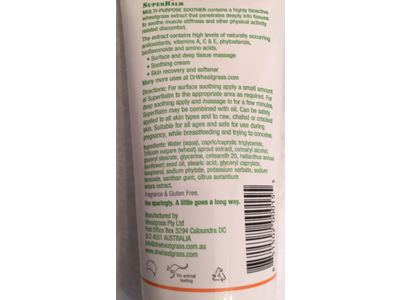 Dr Wheatgrass Superbalm, 160 ml - Image 4