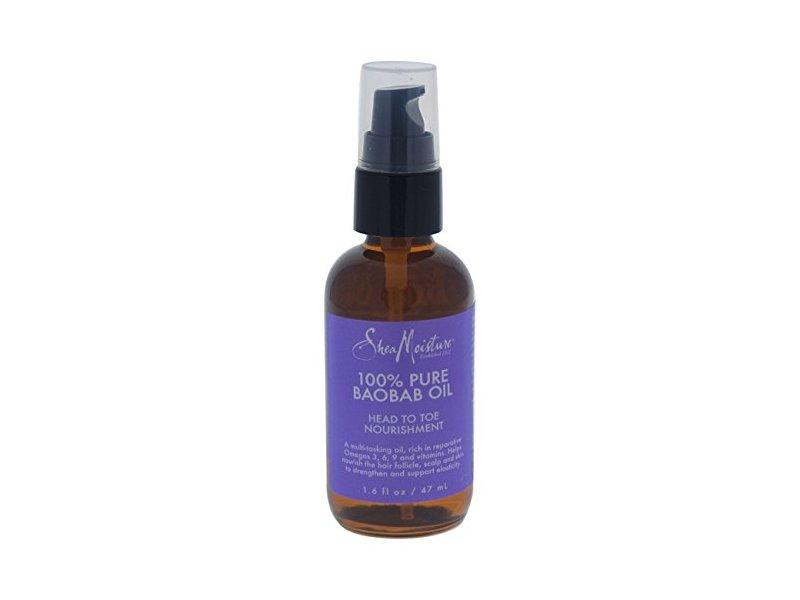 SheaMoisture 100% Pure Baobab Oil Head To Toe for Unisex, 1.6 Ounce