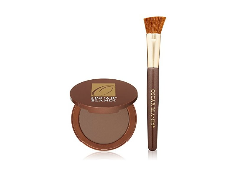 Oscar Blandi Hair Shadow Root Concealing Kit, Dark Brown/Black, .24 oz
