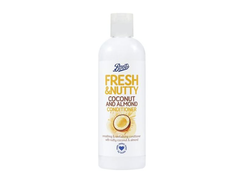 Boots Fresh & Nutty Coconut And Almond Conditioner, 500 mL/16.9 fl oz