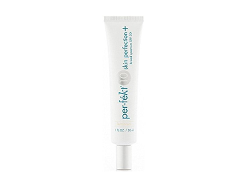 Pefekt 10 Skin Perfection Plus Foundation With Natural SPF 30 - Cashmere, 1 Fl Oz / 30 ml