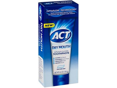 Act Toothpaste Dry Mouth Size 4.6 Act Toothpaste Dry Mouth 4.6z