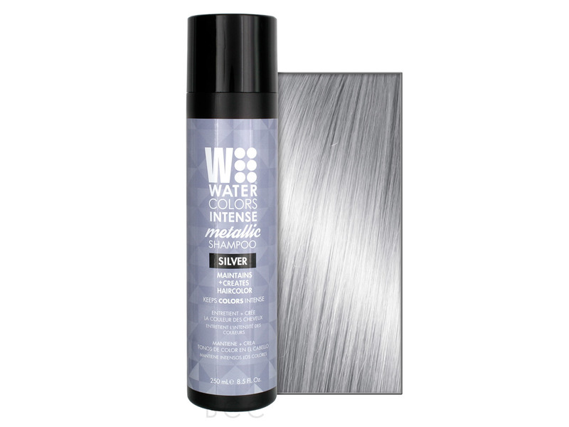 Tressa Watercolors Intense Metallic Shampoo, Silver, 8.5 oz
