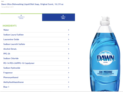 Dawn Ultra Original Scent Dishwashing Liquid, 16.2 fl oz