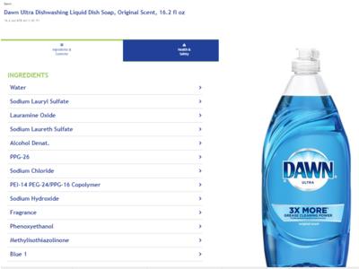 Dawn Ultra Original Scent Dishwashing Liquid, 16.2 fl oz - Image 1