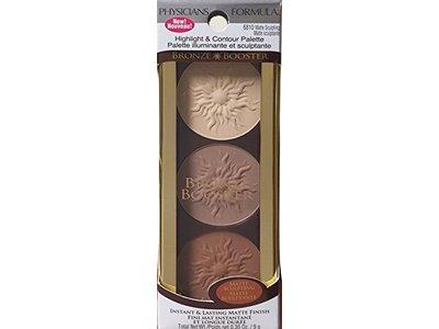 Physicians Formula Bronze Booster Highlight & Contour Palette, Matte Sculpting Palette, 0.3 Ounce - Image 4