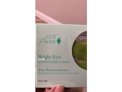 100% Pure: Bright Eyes Organic Mask - Image 6