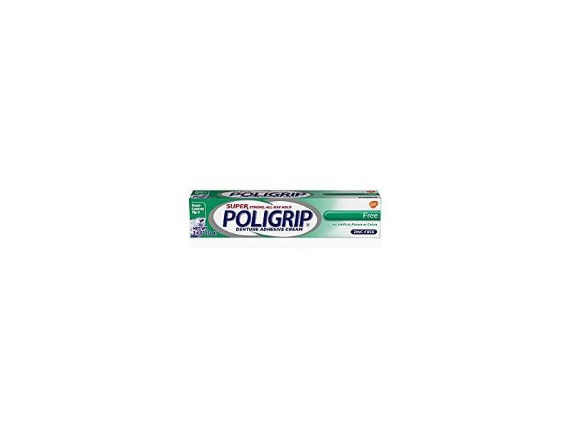 Super Poligrip Denture Adhesive Cream, 2.4 oz