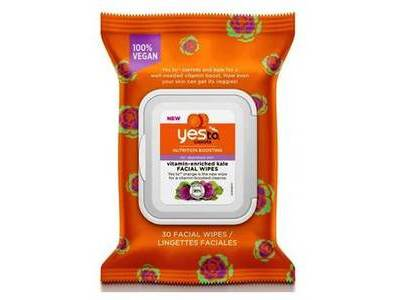 Yes To Carrots Vitamin-Enriched Kale Wipes