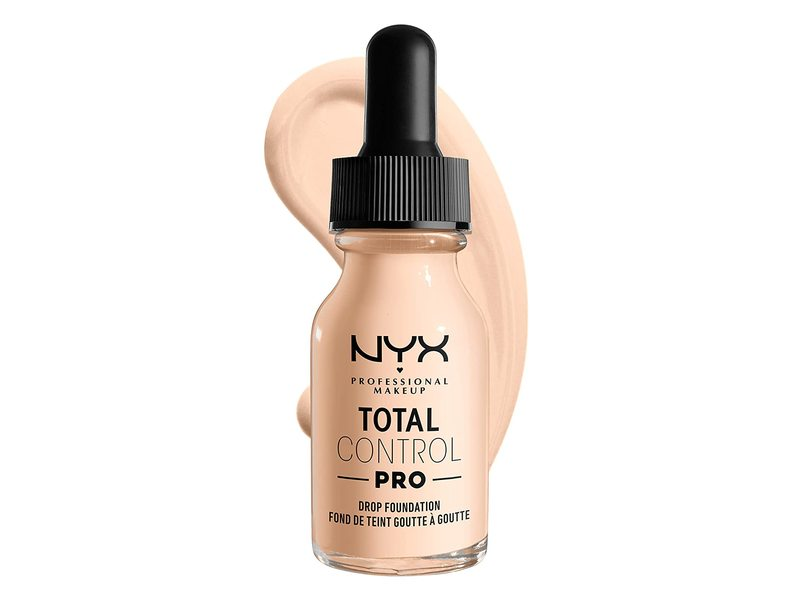 NYX Professional Makeup Total Control Pro Drop Foundation, Light Pale, 0.43 fl oz/13 mL