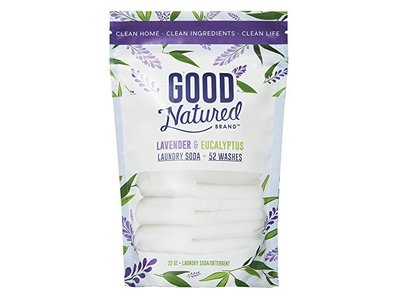 Good Natured Brand THE BEST All-Natural Eco-friendly Lavender and Eucalyptus Laundry Soda/Detergent, 52 loads