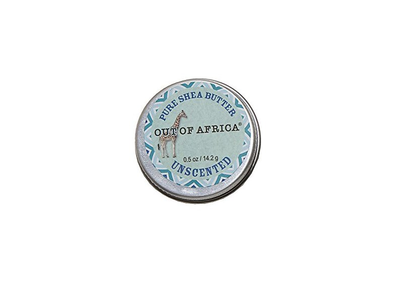 Out of Africa Unscented Shea Butter, 2 Ounce Tin