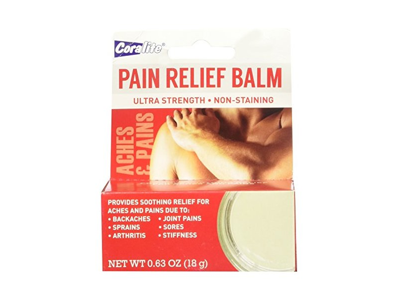 Coralite Family Care Ultra Strength Pain Relief Balm, .63 oz