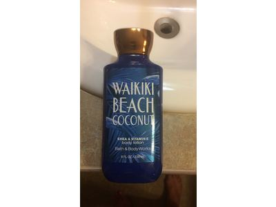 Bath Body Works Waikiki Beach Coconut Body Lotion 2017 8