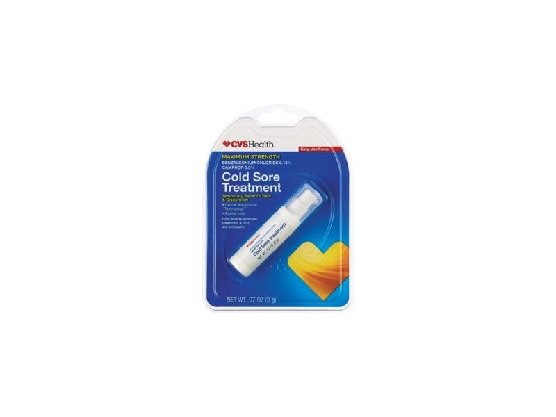 CVS Health Cold Sore Treatment Maximum Strength,  07 oz Ingredients