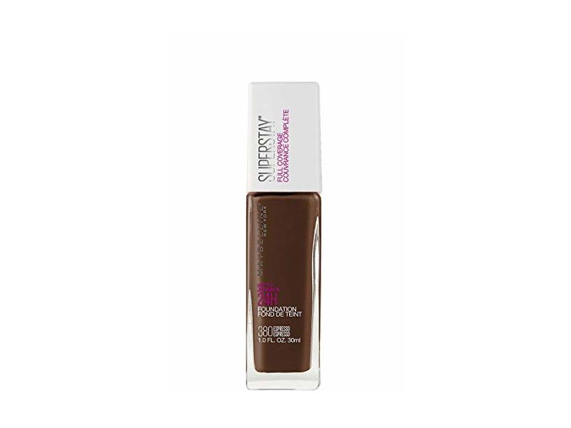 Maybelline New York Super Stay Full Coverage Liquid Foundation Makeup, Espresso, 1 Fluid Ounce