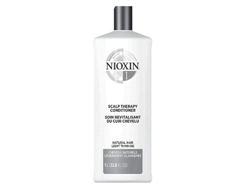 Nioxin Scalp Therapy Conditioner, System 1 Peppermint Oil, 16.9 fl oz