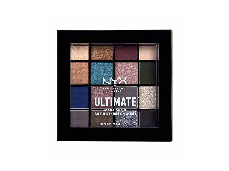 Nyx Professional Makeup Ultimate Shadow Palette, Ash