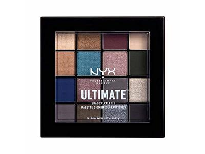 Nyx Professional Makeup Ultimate Shadow Palette, Ash - Image 1