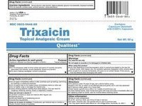 Trixaicin Topical Analgesic Cream 0.025% (RX), 3x60 Gm Tubes, Qualitest - Image 2