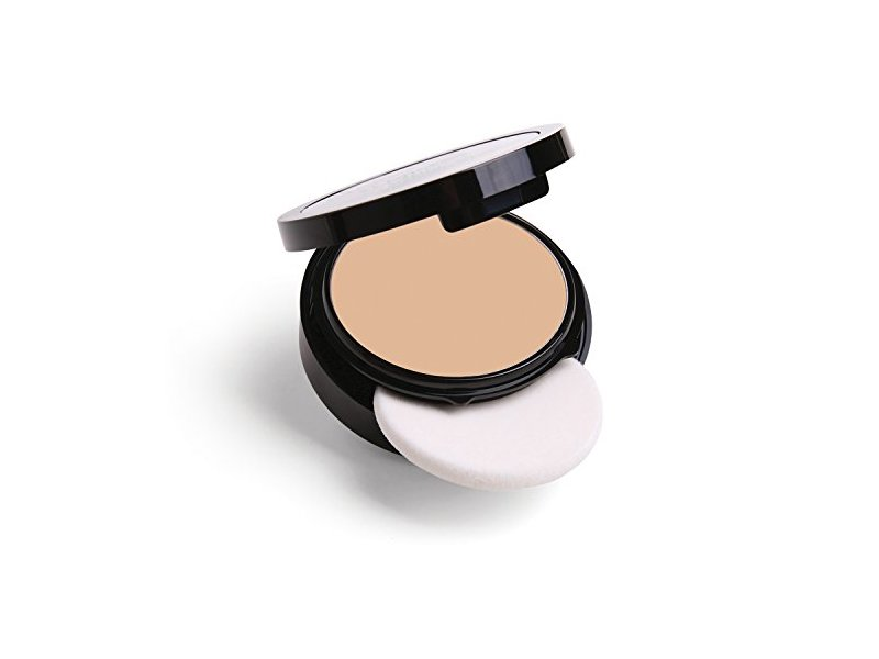 Marcelle Flawless Pressed Powder, Ivory, Hypoallergenic and Fragrance-Free, 0.25 oz