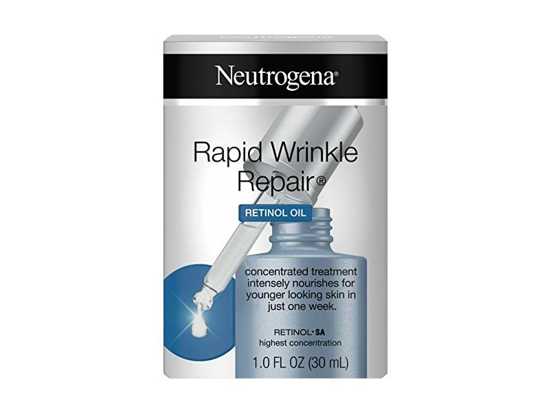 Neutrogena Rapid Wrinkle Repair Retinol Oil With Concentrated Retinol SA, 1.0 Fl. Oz, 1 Fluid Ounce