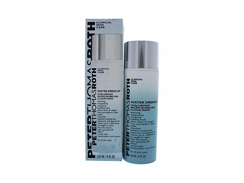 Peter Thomas Roth Water Drench Hyaluronic Micro-Bubbling Mask, 4 fl oz/120 mL