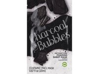 Beauty 360 Charcoal and Bubbles Foaming Sheet Mask - Image 2