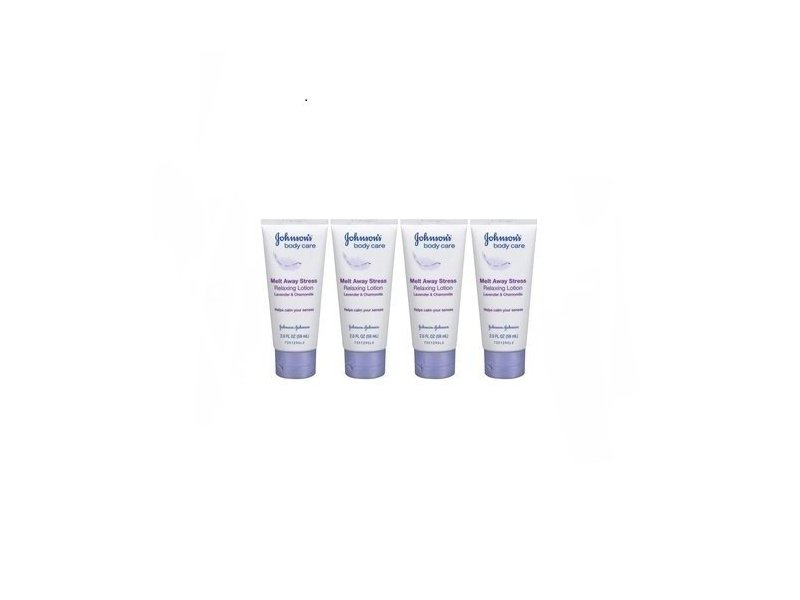 Johnson's Melt Away Stress Lavender and Chamomile Lotion