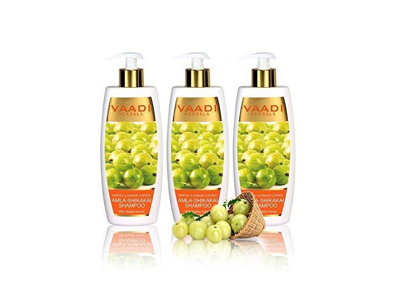 Vaadi Herbals Amla with Shikakai & Reetha Shampoo, 11.8 oz