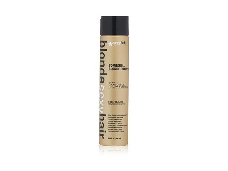 Sexyhair Blonde Bombshell Blonde Shampoo, 10.1 fl oz/300 mL