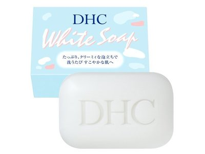 DHC White Soap, 3.7 oz - Image 1
