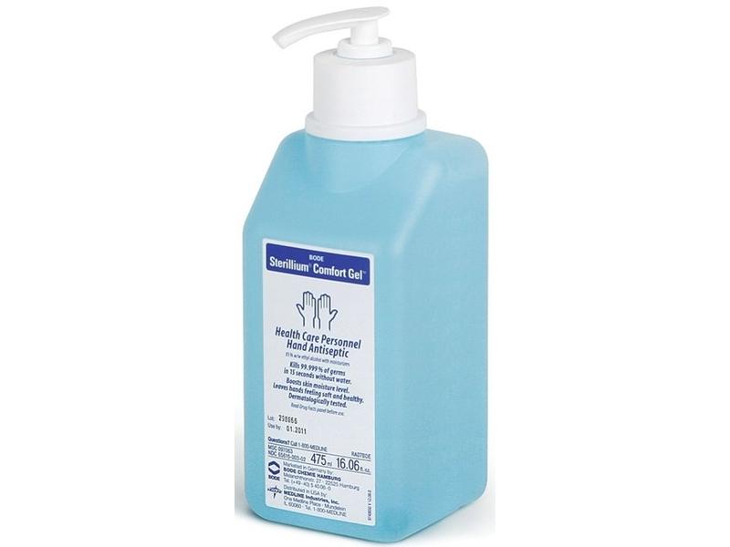 Boe Sterillium Comfort Gel Healthcare Personnel Hand Antiseptice, 16.06 fl oz