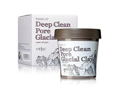 Goodal Wash Up Deep Clean Pore Glacial Clay Wash Off Pack, 3.4 fl oz