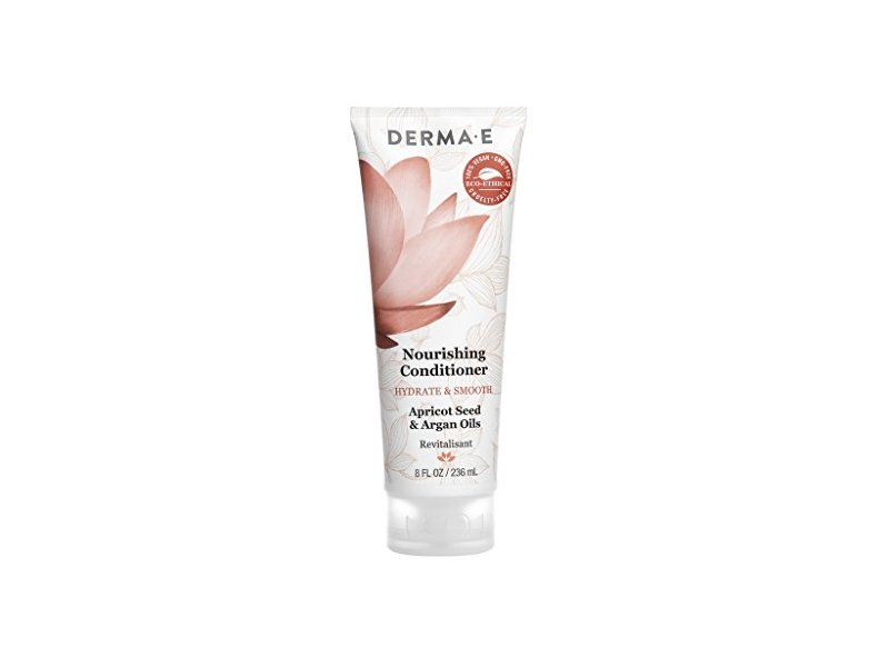 DERMA E Hydrate & Smooth Nourishing Conditioner, 8 Fl Oz