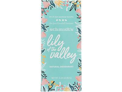 Schmidt's Deodorant Lily of The Valley, 3.25 Ounce